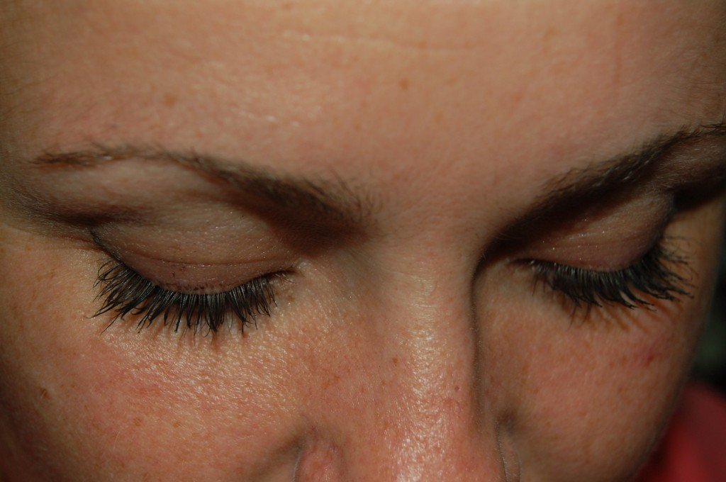6ec380f0a6d She noticed during my wedding when the make-up artist was putting false  eyelashes on her that it made her eyes look the ...