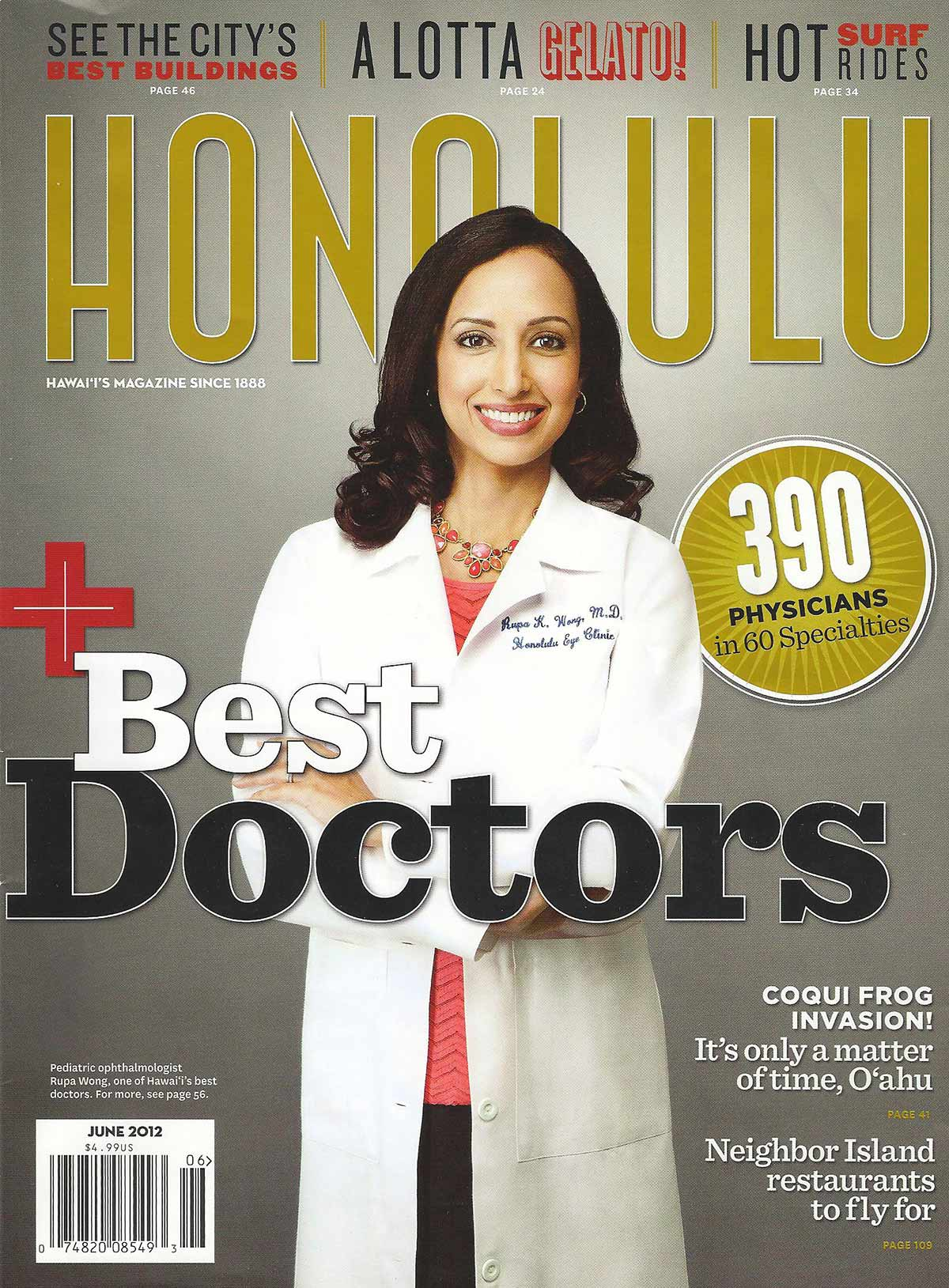 Honolulu Magazine June 2012 Best Doctors Issue