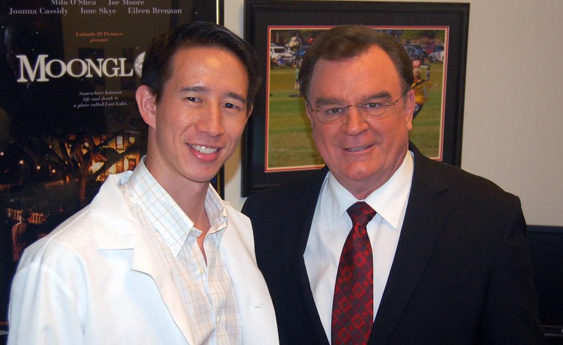 Dr Jeff Wong and Joe Moore