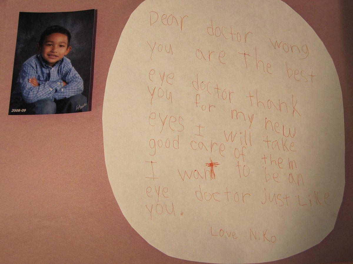Niko thank you letter