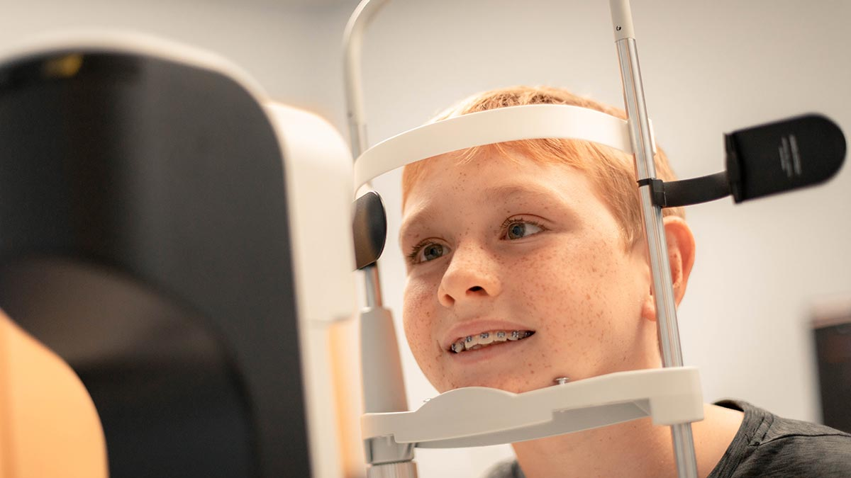 Measurements of the length of the eye help determine the best treatment strategy for your child.
